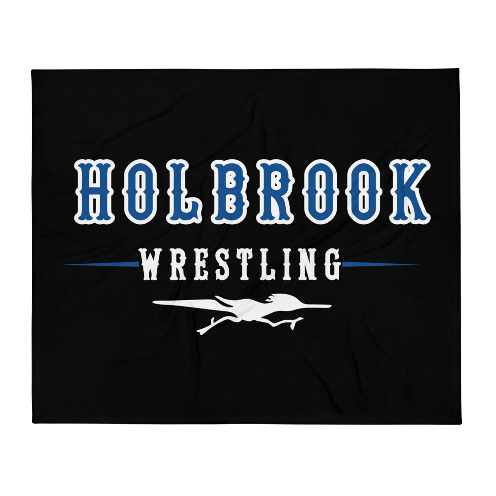 Holbrook Wrestling Throw Blanket