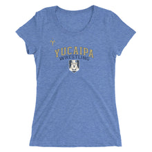 Yucaipa Wrestling Ladies' short sleeve t-shirt