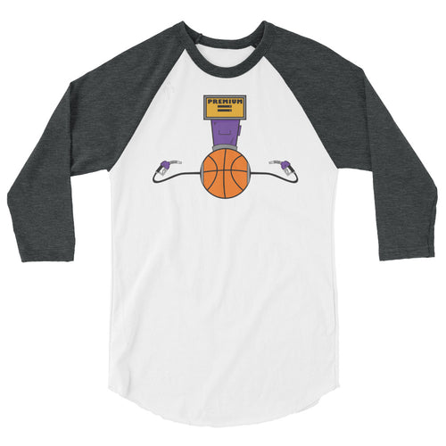 Premium Basketball 3/4 sleeve raglan shirt