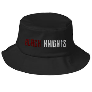 West Virginia Black Knights Old School Bucket Hat