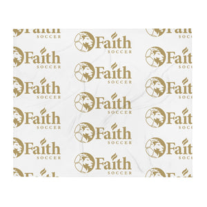 Faith Christian School Throw Blanket