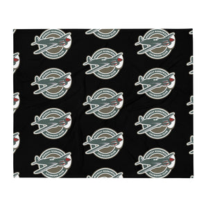 Midwest Warhawks Lacrosse Throw Blanket