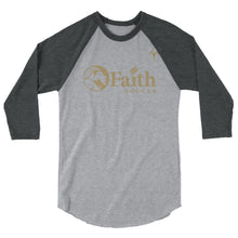 Faith Christian School 3/4 sleeve raglan shirt