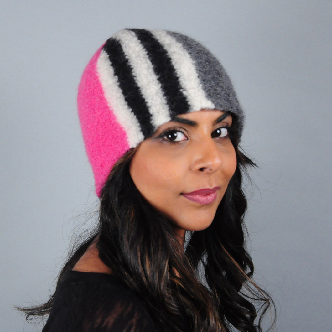 Colourblock Hat