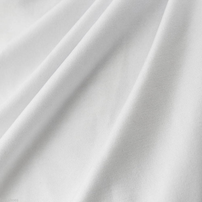 PFD White fabric for dyeing - by the 1/2 yard