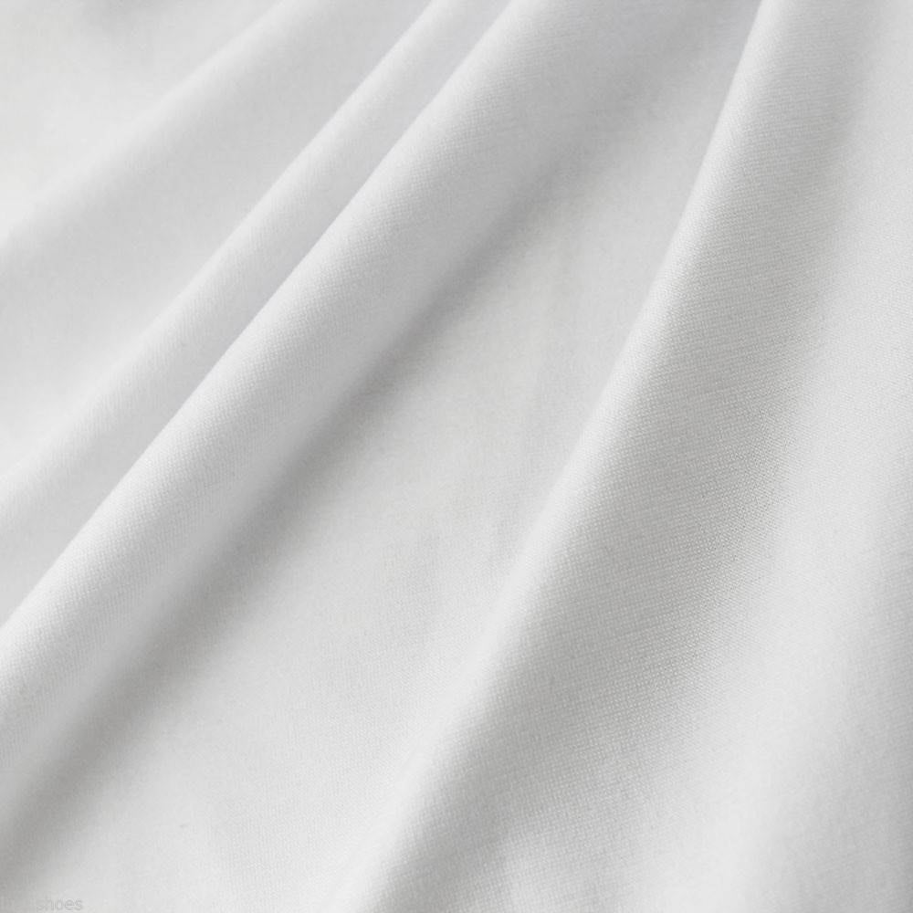 Cotton PFD White fabric for dyeing - by the 1/2 yard