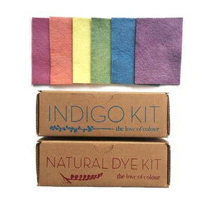 Make a Rainbow with Natural Dyes