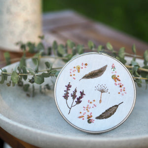 Floral Embroidery Kit - Spell One: Inspiration