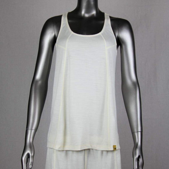 Chill Angel Tops M / Vanilla Chill Angel Merino Wool Tank-Top Sale