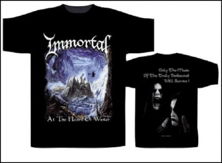 Immortal – At the Heart of Winter Short Sleeved T-shirt