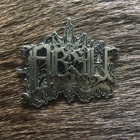 Absu Metal Logo Pin