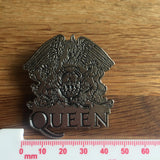 Queen Logo Crest Metal Pin