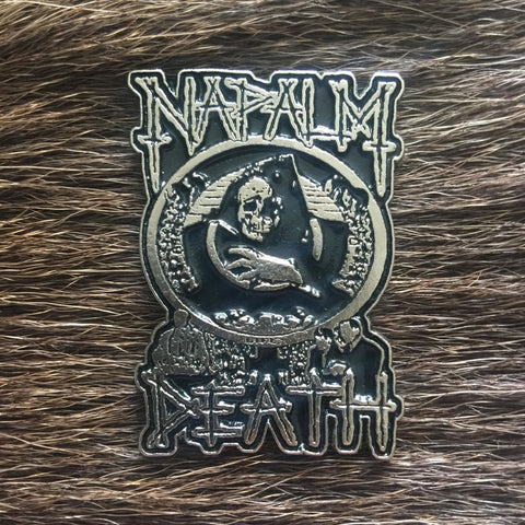 Napalm Death - Death Metal Pin