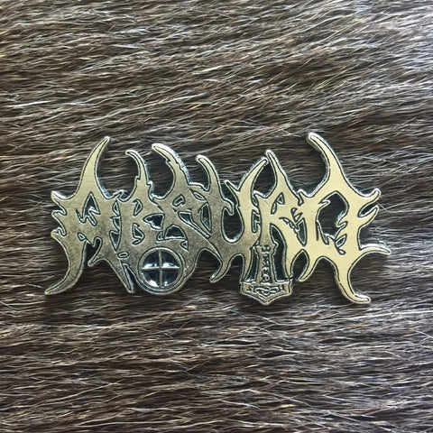 Absurd Metal Logo Pin