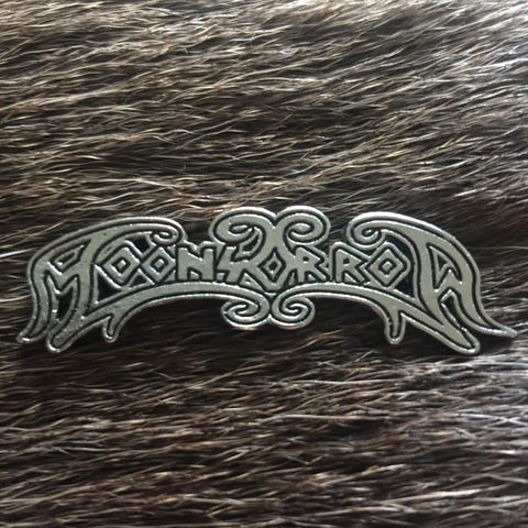 Moonsorrow Logo Metal Pin