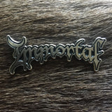 Immortal Logo Metal Pin