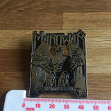 Manowar - Battle Hymns Metal Pin