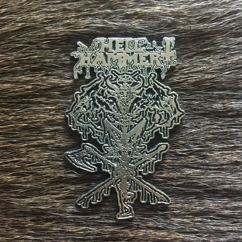 Hellhammer - Demon Entrails Metal Pin