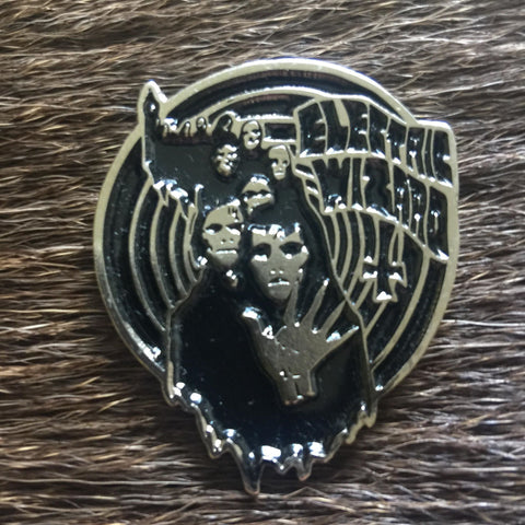 Electric Wizard - Row of Ghosts Metal Pin