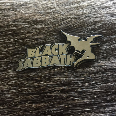 Black Sabbath Creature Logo Metal Pin