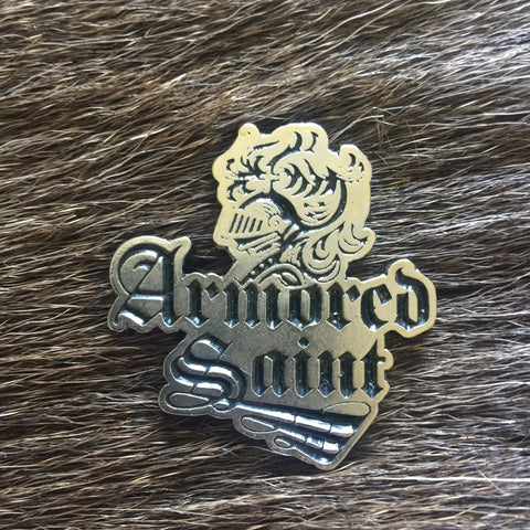 Armored Saint - Logo Metal Pin