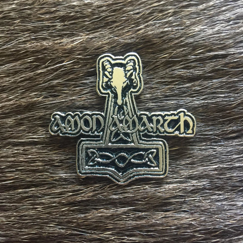 Amon Amarth - Thor's Hammer Metal Pin