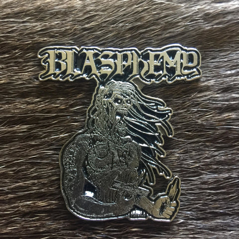 Blasphemy - Demon Metal Pin