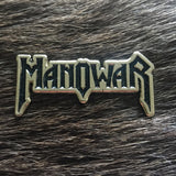 Manowar Logo Metal Pin