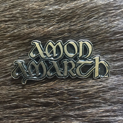 Amon Amarth - Logo Metal Pin