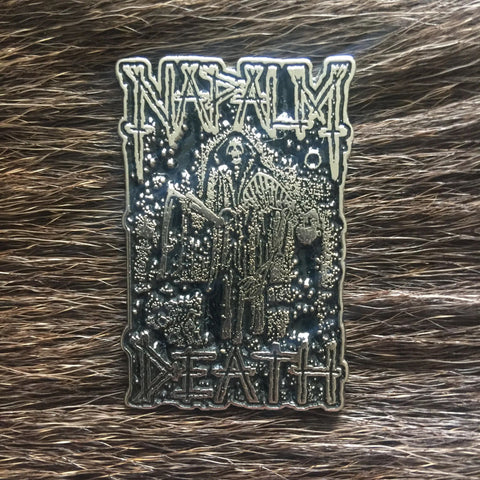 Napalm Death - Reaper Metal Pin