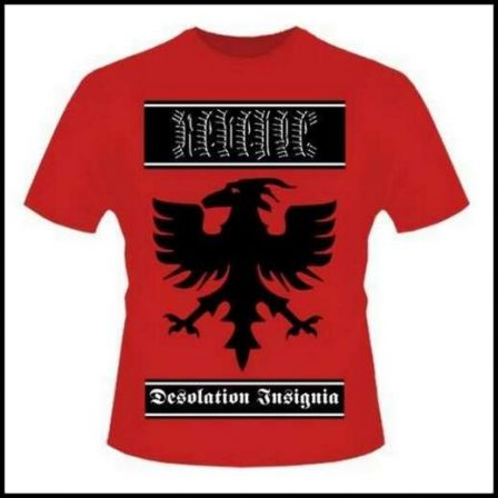 Revenge - Desolation Insignia Red Short Sleeved T-shirt