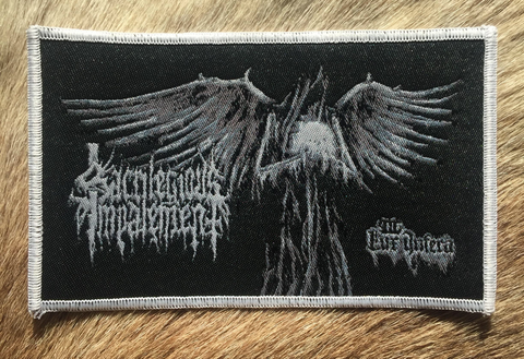 Sacrilegious Impalement	- Lux Inferna White Border Patch