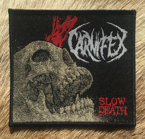 Carnifex - Slow Death Black Border Patch