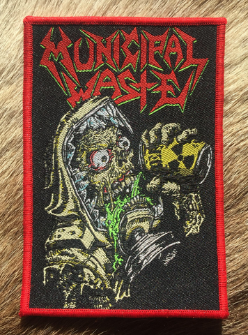 Municipal Waste - The Last Rager Red Border Patch