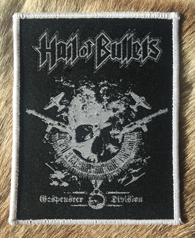 Hail of Bullets - Gespenter Division White Border Patch