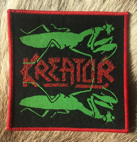 Kreator - Renewal Red Border Patch