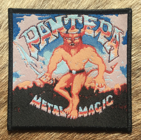 Pantera - Metal Magic Black Border Patch