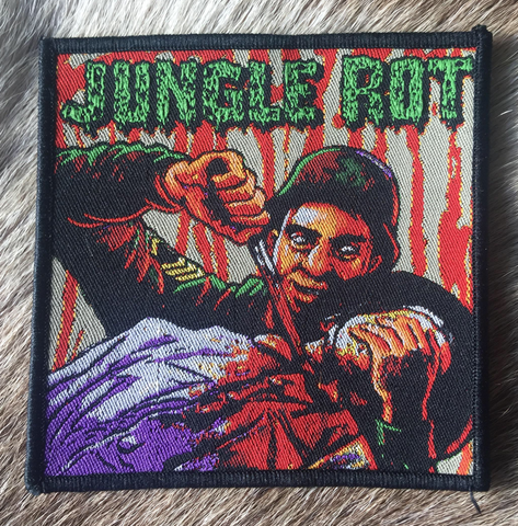 Jungle Rot - Darkness Foretold Black Border Patch