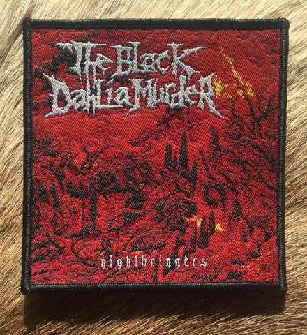 The Black Dahlia Murder - Nightbringers Black Border Patch