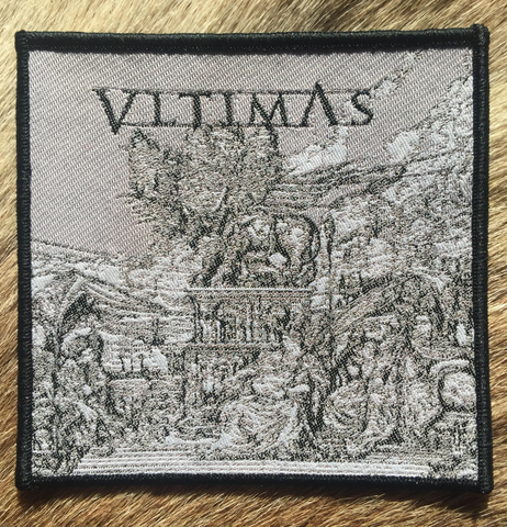 Vltimas - Something Wicked Marches In Black Border Patch
