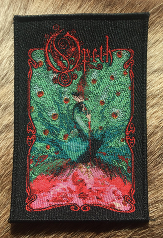 Opeth - Sorceress Black Border Patch