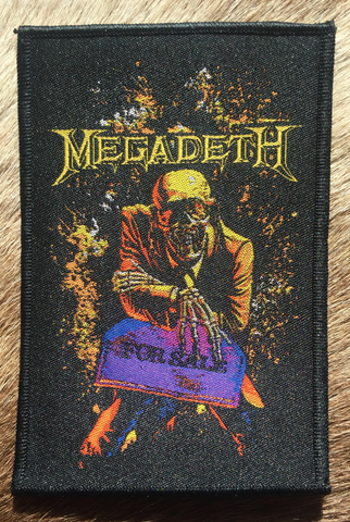 Megadeth - Peace Sells… But Who's Buying Black Border Patch