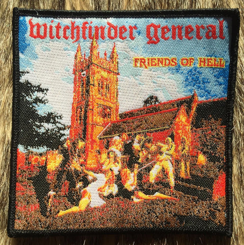 Witchfinder General - Friends of Hell Black Border Patch