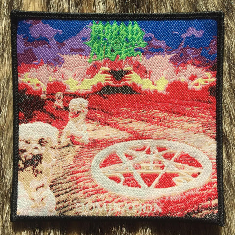 Morbid Angel - Domination Black Border Patch