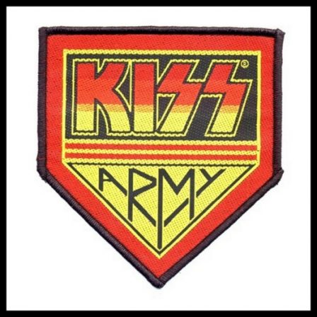 Kiss- Kiss Army Patch