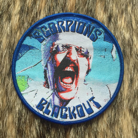 Scorpions - Blackout Circular Patch - ONLY ONE!!