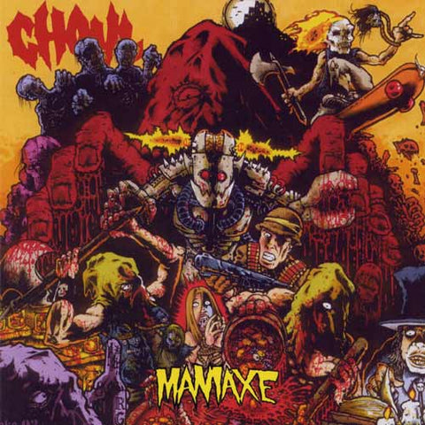 Ghoul - Maniaxe CD