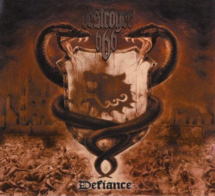 Destroyer 666 - Defiance CD