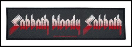 Black Sabbath - Sabbath Bloody Sabbath Strip Patch
