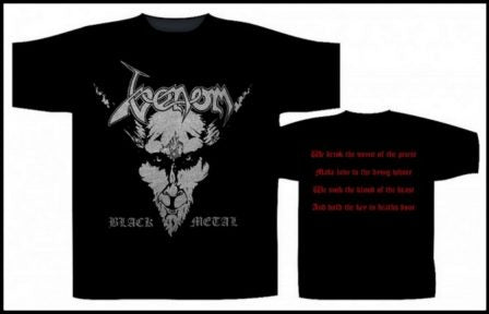 Venom - Black Metal Short Sleeved T-shirt